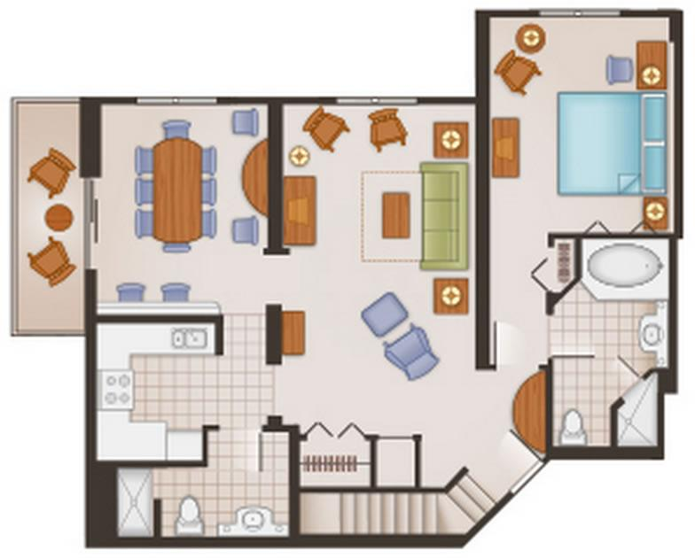 saratoga-springs-resort grand-villa first-floor layout
