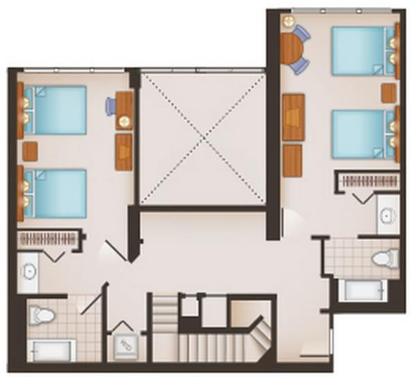 saratoga-springs-resort grand-villa second-floor layout