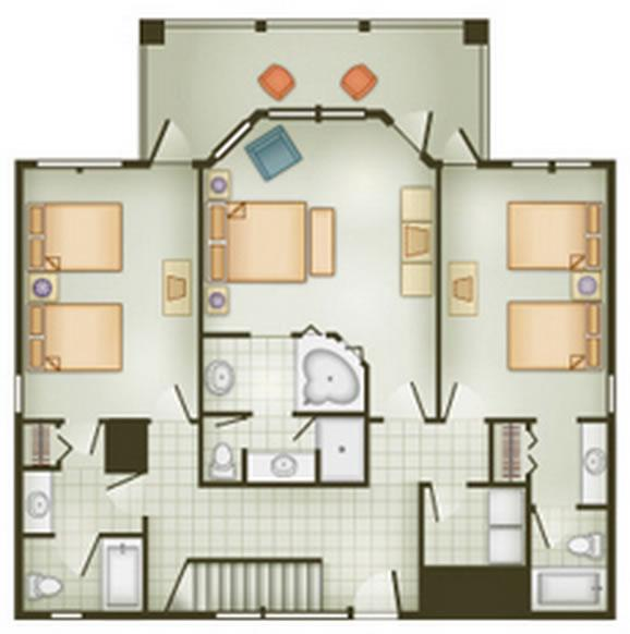 vero-beach-resort grand-villa first-floor layout
